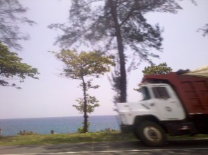 On the road in the Dominican Republic, 2012