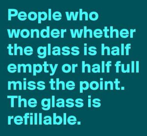 the-glass-is-refillable